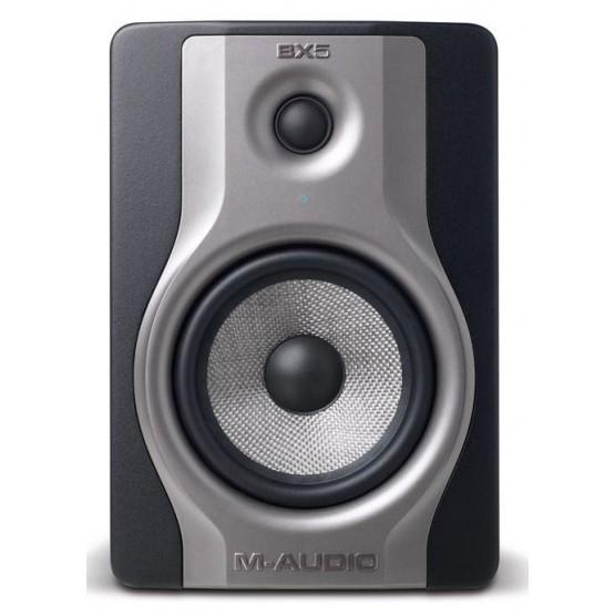 M AUDIO BX5 CARBON MONITOR ESTUDIO BIAMPLIFICADO 70 W. UNIDAD