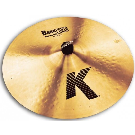 ZILDJIAN K DARK MEDIUM THIN PLATO 18 CRASH