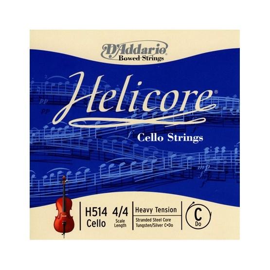 D'ADDARIO H514 C 4/4 HVY CUERDA CELLO HELICORE