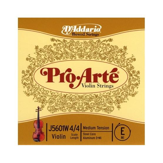D'ADDARIO CUERDA VIOLIN PRO ARTE E J5601W 4/4 MED