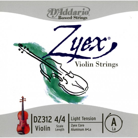 D'ADDARIO CUERDA VIOLIN ZYEX A DZ312 4/4 LGT COMP