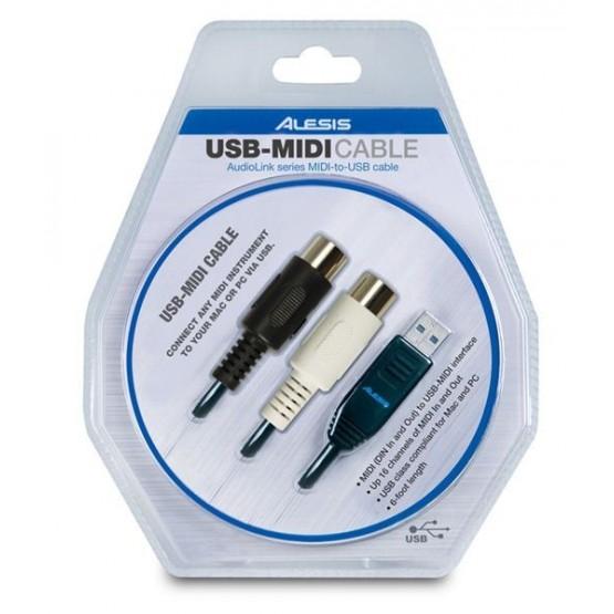 ALESIS USB-MIDI CABLE CABLE CONVERSOR MIDI A USB