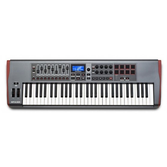 NOVATION IMPULSE 61 TECLADO CONTROLADOR