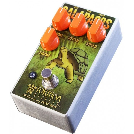 TORTUGA EFFECTS GALAPAGOS TREMOLO BOOSTER