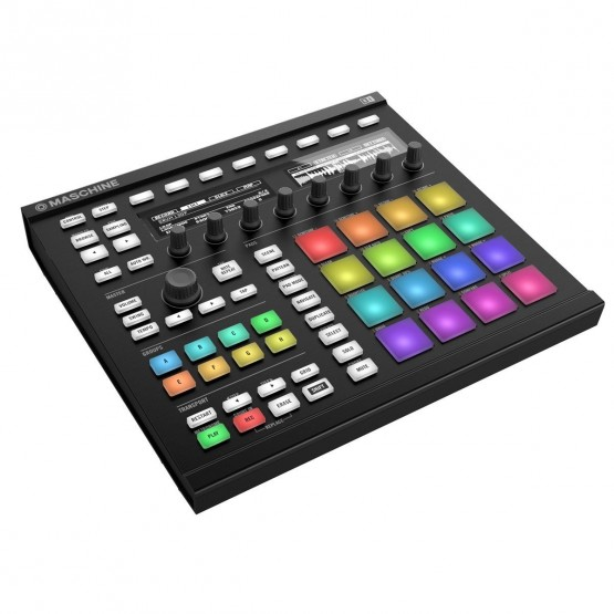 NATIVE INSTRUMENTS MASCHINE MKII NEGRA PRODUCCION MUSICAL