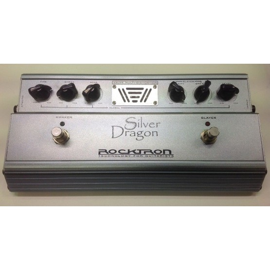 ROCKTRON SILVER DRAGON PEDAL DISTORSION GUITARRA ELECTRICA. OUTLET. DEMO