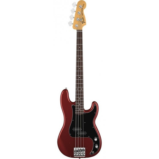 FENDER NATE MENDEL PRECISION BASS RW BAJO ELECTRICO CANDY APPLE RED