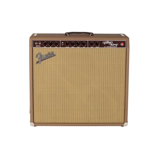 FENDER VIBROKING 20TH ANNIVERSARY EDITION BROWN