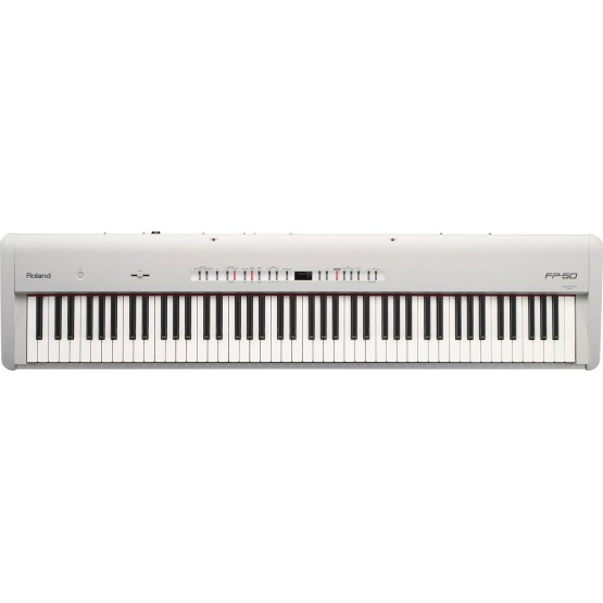 ROLAND FP50 WH PIANO DIGITAL BLANCO