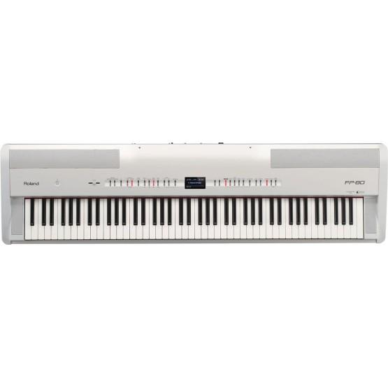 ROLAND FP80 WH PIANO DIGITAL BLANCO