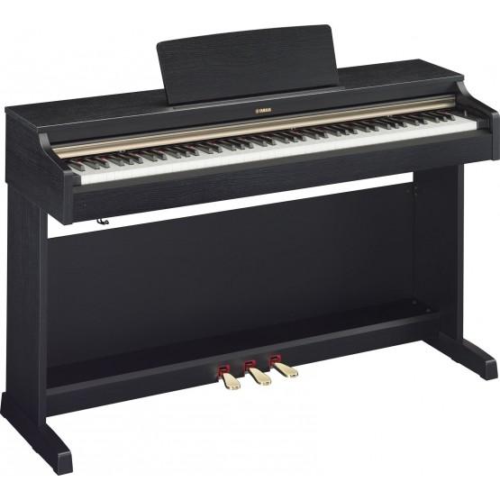 YAMAHA YDP162 B PIANO DIGITAL ARIUS NEGRO NOGAL. OUTLET