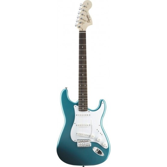 SQUIER AFFINITY STRATOCASTER RW GUITARRA ELECTRICA LAKE PLACID BLUE. OUTLET
