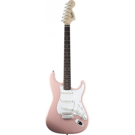 SQUIER AFFINITY STRATOCASTER RW GUITARRA ELECTRICA SHELL PINK