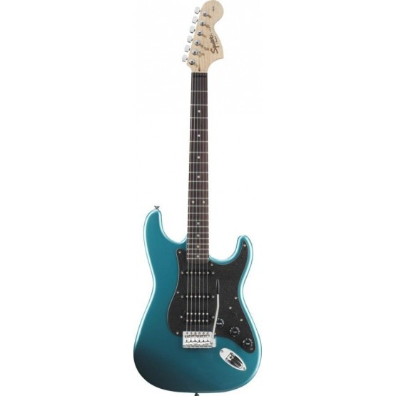 SQUIER AFFINITY STRATOCASTER HSS RW GUITARRA ELECTRICA LAKE PLACID BLUE. OUTLET