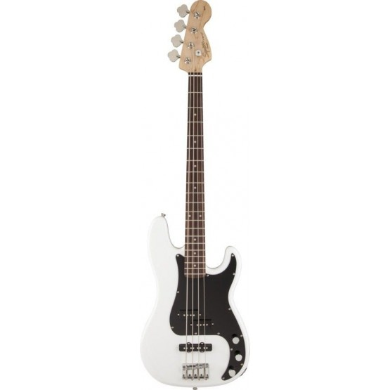 SQUIER AFFINITY PRECISION BASS RW BAJO ELECTRICO OLYMPIC WHITE