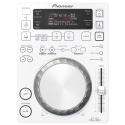 PIONEER CDJ350 W REPRODUCTOR CD DJ BLANCO