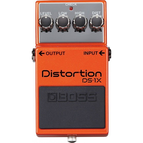 BOSS DS1X PEDAL DISTORSION EDICION ESPECIAL