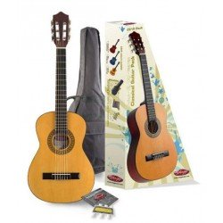 STAGG C510 PACK GUITARRA ESPAÑOLA 1/2 CON FUNDA Y ACCESORIOS