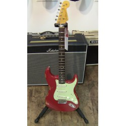 FENDER 61 STRATOCASTER CUSTOM SPN14 GUITARRA ELECTRICA HEAVY RELIC DAKOTA RED