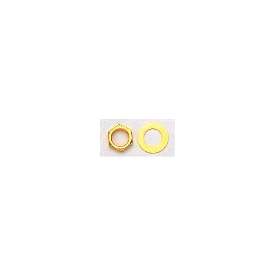 ALL PARTS EP0654002 GOLD NUTS (10 PIECES) AND GOLD DRESS WASHERS (10 PIECES)