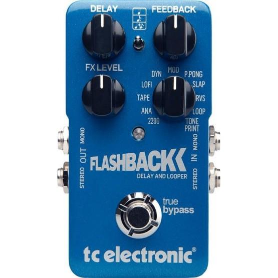 TC ELECTRONIC FLASHBACK DELAY LOOPER PEDAL