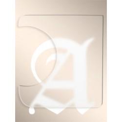 ALHAMBRA 7530 GOLPEADOR TRANSPARENTE 20X20