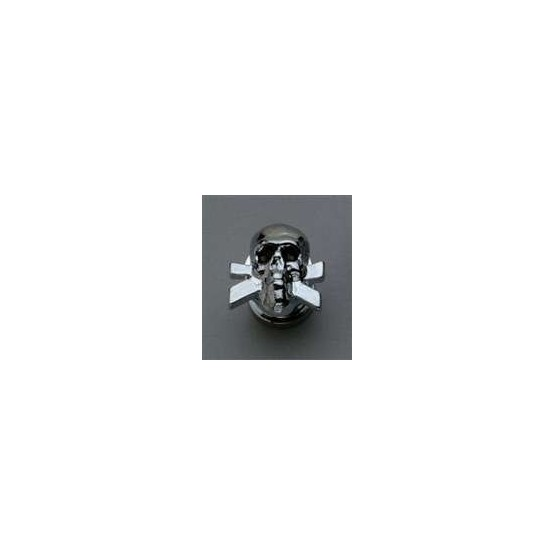 GROVER AP6676010 SKULL STRAP BUTTON SYSTEM (2), CHROME