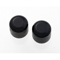 ALL PARTS MK0110003 BLACK DOME KNOBS (2) WITH SET SCREW
