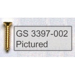 ALL PARTS GS3397003 HUMBUCKING PICKUP RING SCREWS SHORT, BLACK, 2 X 1/2