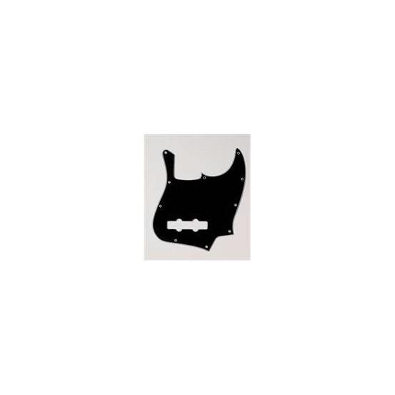 ALL PARTS PG0755033 PICK GUARD FOR J BASS, BLACK 3-PLY (B/W/B)
