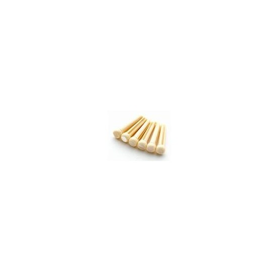 ALL PARTS BP2858080 CREAM PLASTIC BRIDGE PIN (6 PIECES). OUTLET