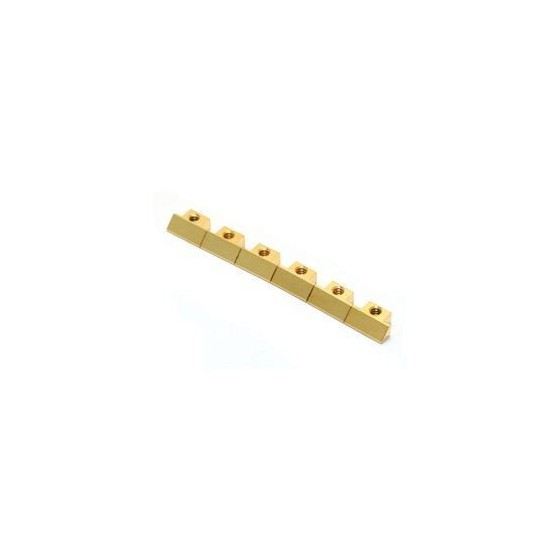 ALL PARTS BP0535002 OLD STYLE (ABR) TUNEMATIC SADDLES (SET OF 6), GOLD FITS USA