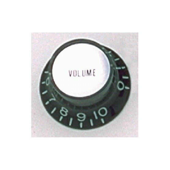 ALL PARTS PK0184023 REFLECTOR CAP (SILVER) VOLUME KNOBS (2) BLACK