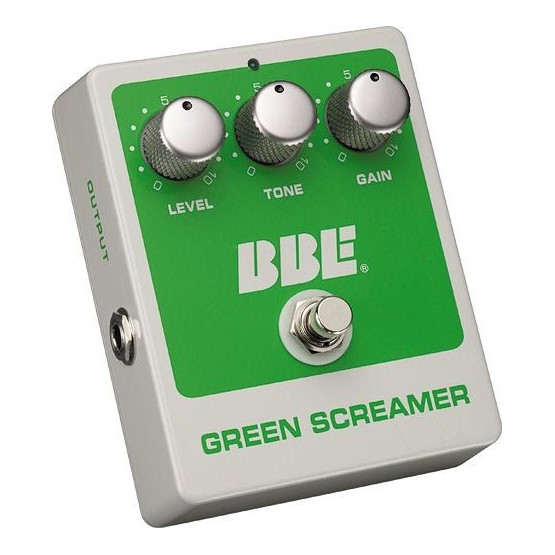 BBE GREEN SCREAMER PEDAL OVERDRIVE