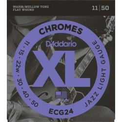 D'ADDARIO ECG24 JUEGO CUERDAS GUITARRA ELECTRICA 011-050