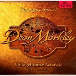 DEAN MARKLEY 2004A MLT BRONCE JUEGO CUERDAS GUITARRA ACUSTICA 012054