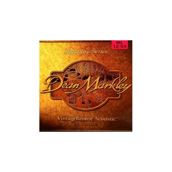 DEAN MARKLEY 2004A MLT BRONCE JUEGO CUERDAS GUITARRA ACUSTICA 012054. OUTLET