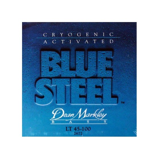 DEAN MARKLEY 2672 BLUE STEEL JUEGO CUERDAS BAJO 045100