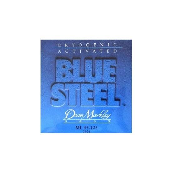 DEAN MARKLEY 2674 BLUE STEEL JUEGO CUERDAS BAJO 045105