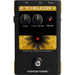 TC HELICON VOICETONE T1 PEDAL EFECTOS VOZ
