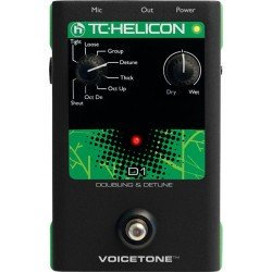 TC HELICON VOICETONE D1 PEDAL EFECTOS VOZ