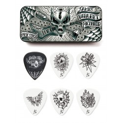 DUNLOP JPH01T088 ESTUCHE METALICO 6 PUAS JAMES HETFIELD