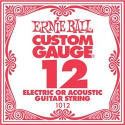 ERNIE BALL 1012 CUERDA 012 GUITARRA ELECTRICA