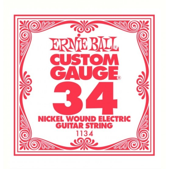 ERNIE BALL 1134 CUERDA 034 GUITARRA ELECTRICA