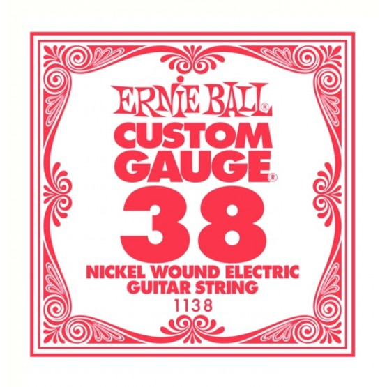 ERNIE BALL 1138 CUERDA 038 GUITARRA ELECTRICA