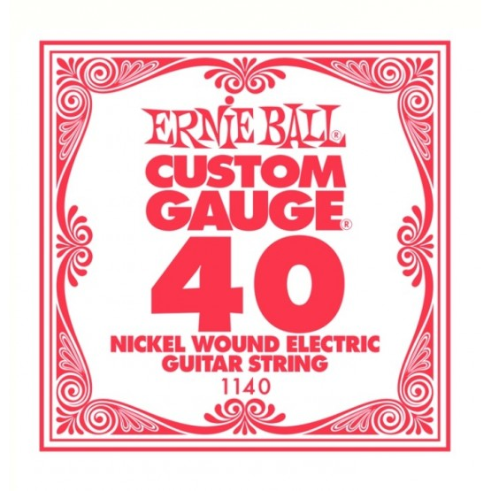 ERNIE BALL 1140 CUERDA 040 GUITARRA ELECTRICA