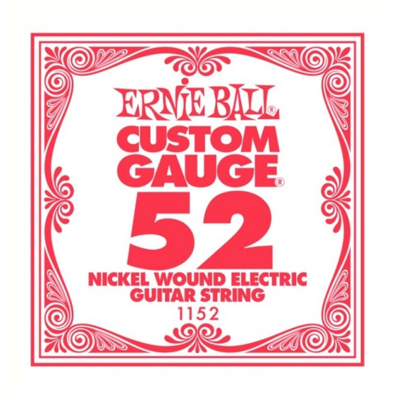 ERNIE BALL 1152 CUERDA 052 GUITARRA ELECTRICA