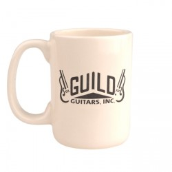 FENDER 0999013000 GUILD VINTAGE LOG COFFE MUG. OUTLET