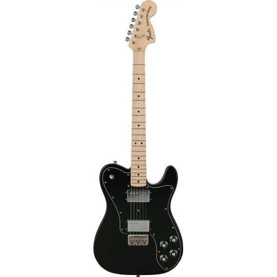 FENDER CLASSIC SERIES 72 TELECASTER DELUXE MN GUITARRA ELECTRICA BLACK