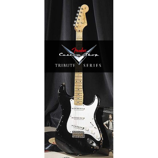 FENDER USA STRATOCASTER ERIC CLAPTON BLACKIE TRIBUTE CUSTOM SHOP GUITARRA ELECTRICA